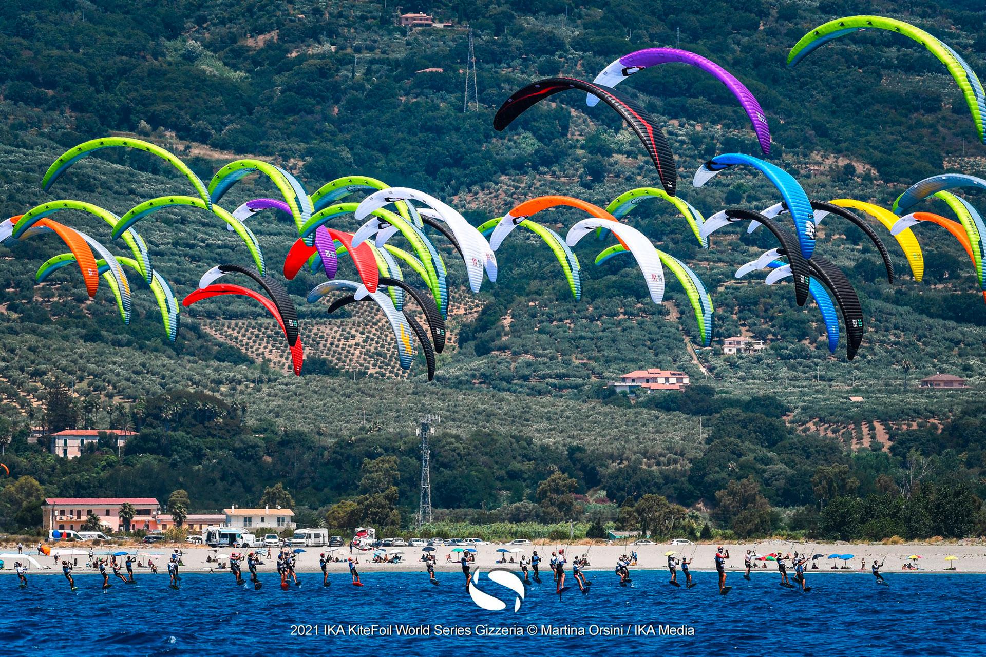 Kitefoil world series in Gizzeria